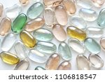 transparent colored stones for... | Shutterstock . vector #1106818547