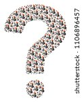 question figure built with... | Shutterstock .eps vector #1106896457