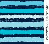 brush strokes seamless pattern. ... | Shutterstock .eps vector #1107047303