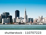 San Francisco Downtown Cityscape