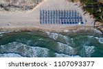 aerial view of paradise beach.... | Shutterstock . vector #1107093377