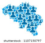 population belgium map....   Shutterstock .eps vector #1107150797