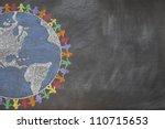 A Hand Drawn Chalkboard Shows...