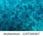 light blue vector blurry... | Shutterstock .eps vector #1107244367