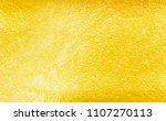 metal gold background shiny... | Shutterstock . vector #1107270113