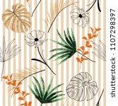 summer light embroidery...   Shutterstock .eps vector #1107298397