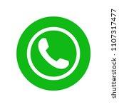 phone icon vector. call icon... | Shutterstock .eps vector #1107317477