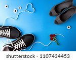 a pair of women s high heel... | Shutterstock . vector #1107434453