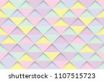 abstract yellow purple and pink ... | Shutterstock .eps vector #1107515723
