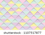 abstract yellow purple and pink ... | Shutterstock .eps vector #1107517877