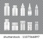 containers for liquid... | Shutterstock .eps vector #1107566897