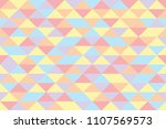 pastel triangles backdrop.... | Shutterstock .eps vector #1107569573