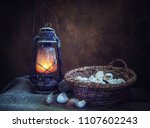 Spring Still Life With Eggs An...
