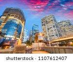 modern buildings of darling... | Shutterstock . vector #1107612407