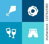 modern  simple vector icon set... | Shutterstock .eps vector #1107615383