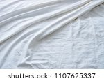 top view of wrinkles on an... | Shutterstock . vector #1107625337
