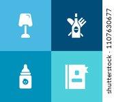 modern  simple vector icon set... | Shutterstock .eps vector #1107630677