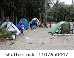 refugees and migrants in a... | Shutterstock . vector #1107650447