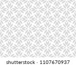 flower geometric pattern.... | Shutterstock . vector #1107670937