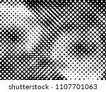 halftone dots texture... | Shutterstock .eps vector #1107701063