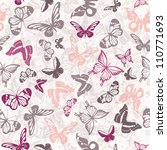 Seamless White Pattern With...