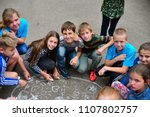 children on vacation children's ... | Shutterstock . vector #1107802757