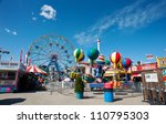 new york   june 27  coney... | Shutterstock . vector #110795303