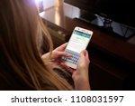 rosario  argentina   may 30 ... | Shutterstock . vector #1108031597