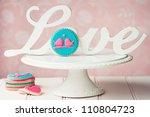 lovebird cookies | Shutterstock . vector #110804723