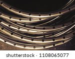 Abstract Of Metal Curve For...