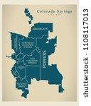 modern city map   colorado...   Shutterstock .eps vector #1108117013
