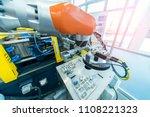 robotic vision sensor camera... | Shutterstock . vector #1108221323