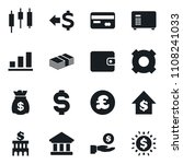set of simple vector isolated... | Shutterstock .eps vector #1108241033