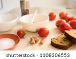 composition of fresh pate ...   Shutterstock . vector #1108306553