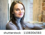 portrait of beautiful young...   Shutterstock . vector #1108306583