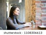 beautiful young businesswoman...   Shutterstock . vector #1108306613