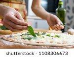 close up of human female hands...   Shutterstock . vector #1108306673