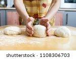 hardworking female hands...   Shutterstock . vector #1108306703