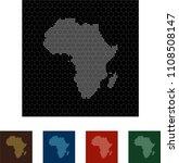 map of africa   Shutterstock .eps vector #1108508147