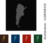 map of argentina   Shutterstock .eps vector #1108508153