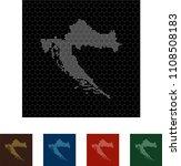 map of croatia   Shutterstock .eps vector #1108508183