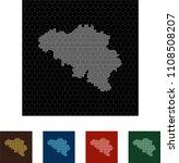 map of belgium   Shutterstock .eps vector #1108508207