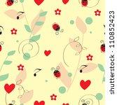 flowers seamless pattern. can...   Shutterstock .eps vector #110852423