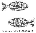 fish pair vector composition...   Shutterstock .eps vector #1108613417
