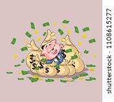 vector illustration isolated... | Shutterstock .eps vector #1108615277