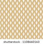 classic art deco seamless... | Shutterstock .eps vector #1108660163