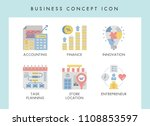 business concept illustration... | Shutterstock .eps vector #1108853597