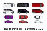 set of black and white  red...   Shutterstock . vector #1108868723