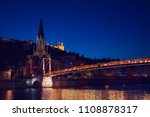 st. georges church and... | Shutterstock . vector #1108878317