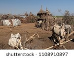 dwellings and villages of... | Shutterstock . vector #1108910897